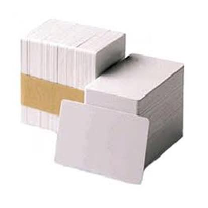 Carte PVC Blanche 0.50mm