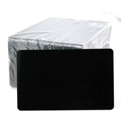Carte PVC Noire mate 0.76mm