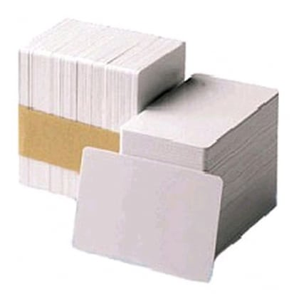 Carte PVC Blanche 0.25mm